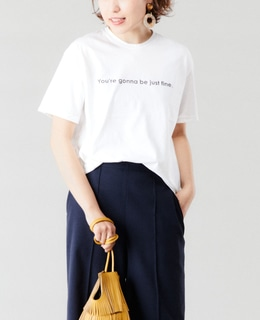 【FLAVOR TEE】ロゴT(JUST FINE)