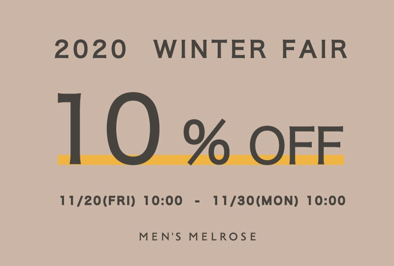 【10%OFF】WINTER FAIR