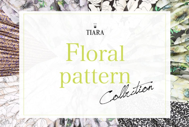 【TIARA】Floral pattern  collection