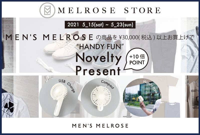 MEN'S MELROSE     Novelty&Point×10